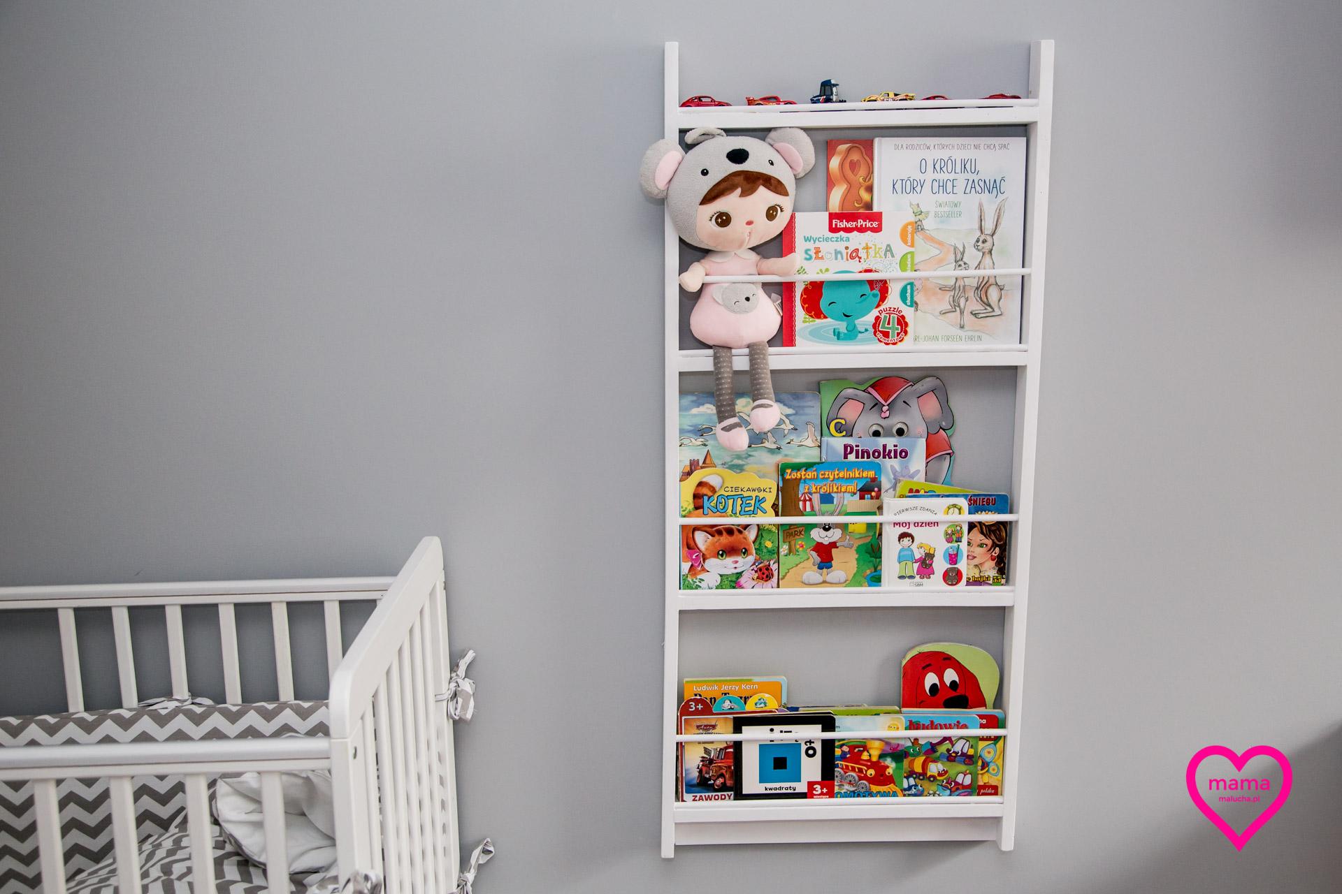 Półka Na Książki Dla Dzieci Diy Mamamaluchapl Blog