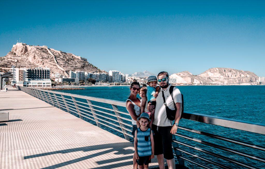 Alicante z dziećmi